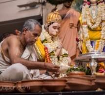 Bella celebración de Ramanavami en Mayapur, fotos