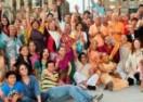 """Foto Noticias: """"Harinam/Sankirtan en la visita a México de Su Santidad Bhakti-Bhusana swami"""""""
