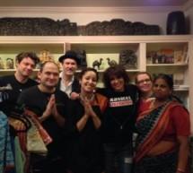 The Pretenders, visitan el restaurante Kalachandji de ISKCON Dallas