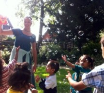 Niños de hasta 4 meses aprenden el Bhagavatam en Londres