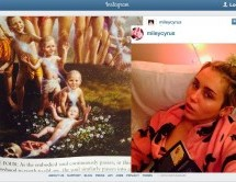 Miley Cirus publica fotos de sus lecturas de los libros de Srila Prabhupada