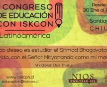1er. Congreso Latinoamericano de Educación Vaisnava, Chile 2015