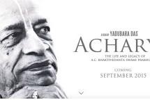 """VIDEO: Trailer de """"Acharya"""", la biografía de A.C. Bhaktivedana Swami"""
