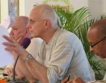 Segundo día de reuniones del GBC se centra en el Curso Guru Discípulos, Protección del Niño y Cuidado de devotos