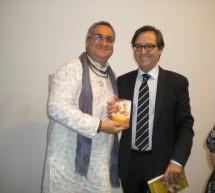 Krishna Kripa das con el director general de las Relaciones con las Confesiones, Ceuta-España