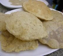 Recetas: Hoy Puris… o pan frito Hindú.