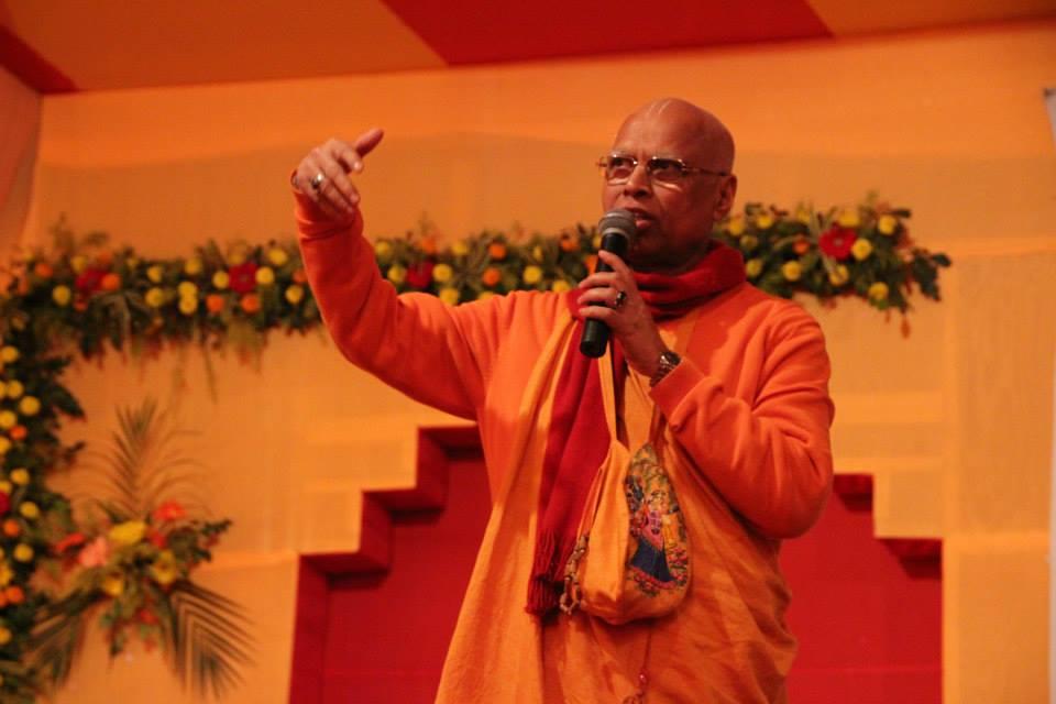 Lokanatha Swami abriendo el 2do. día del ILS