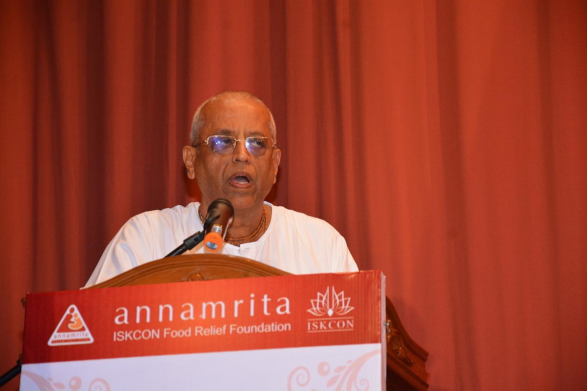 """Radha Krishna das habla acerca de la increíble trayectoria de """"Annamrita"""""""