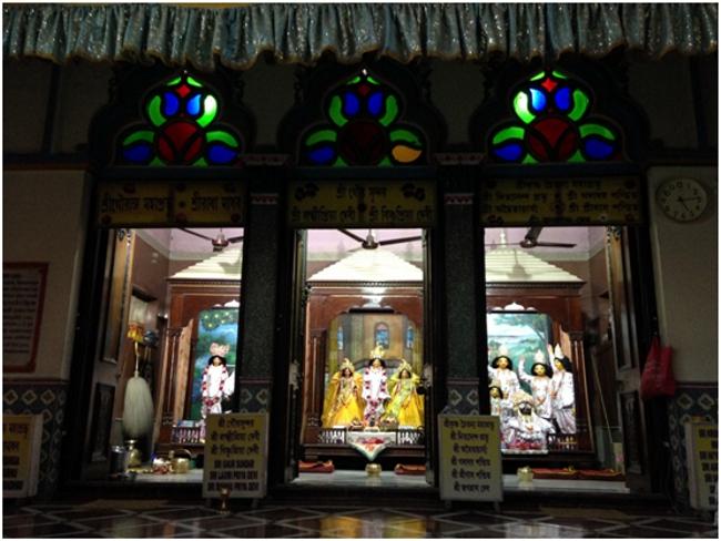 Las deidades regentes del Yogapith, lugar de nacimiento del Señor Caitanya