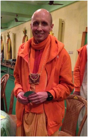 Bhakti Ananta Krishna Goswami, Sannyasi de Rusia