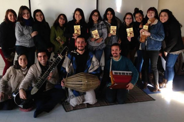 Psicología, Música y Yoga desde la tradición Bhakti en Universidad de Santiago de Chile