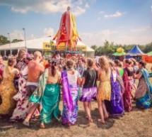 Distribución de alimentos y kirtan en Festival Woodstock en Polonia… sólo el comienzo