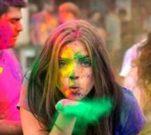 Festival Holi: hermandad bajo los colores