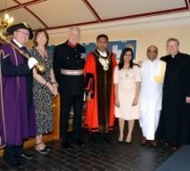 El presidente de ISKCON Bhaktivedanta Manor se convierte en capellán del Alcalde de Harrow, Londres