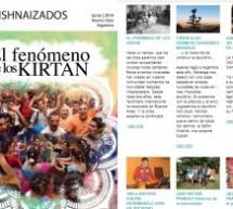 """""""Krishnaizados"""" la nueva revista de la Congregación de Buenos Aires"""