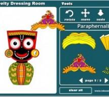 """Juego para niños: """"Vistiendo al Señor Jagannatha"""""""