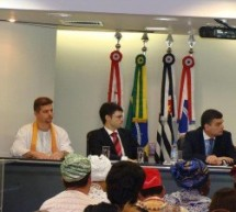 Mahesh Mahesvara Chaitanya Das habla de «libertad religiosa», con motivo de la OAB-SP (portugués)