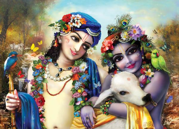 ISKCON Noticias les desea un feliz día de Balaram Purnima!!!
