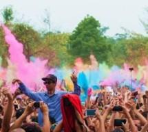 VIDEO: Festival Holi en Brazil