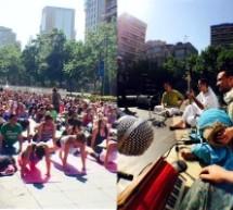 VIDEO presentación de Krishna Sambandha en Expo-Yoga 2014, Santiago-Chile
