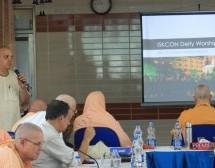 Reuniones ISKCON GBC concluyen con entusiastas informes