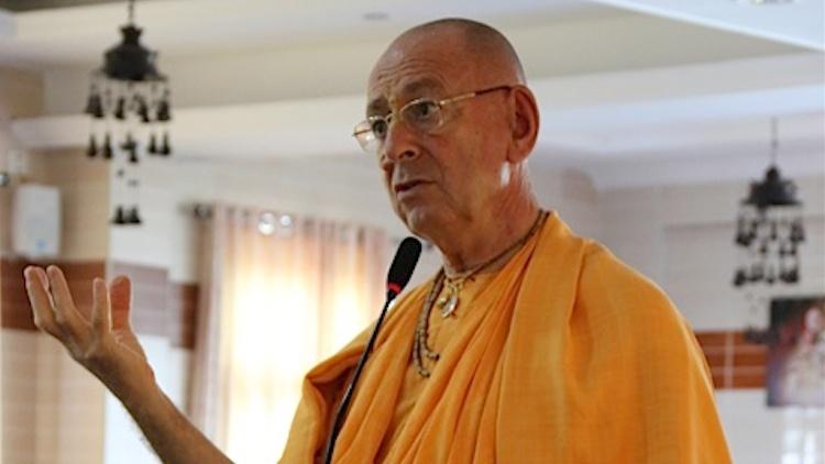 Su Santidad Sivaram swami