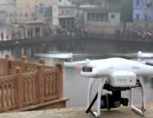TECNOLOGÍA : ¡Increíbles imágenes! Drones fotografían Vrindavan
