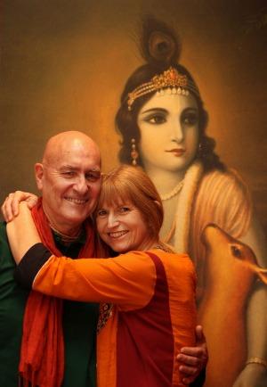 Una vida para Krishna... la base de este matrimonio