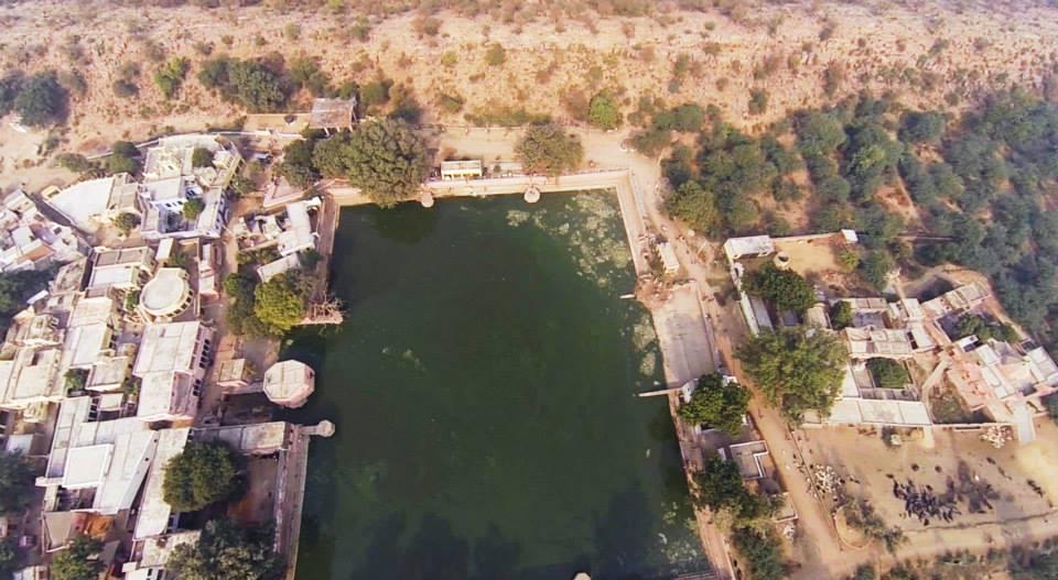 Govinda Kunda and Govardhana Hill 1