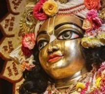 Lágrimas de amor en los ojos de Panca Tattwa Bhagavan, Sridham Mayapur 2015