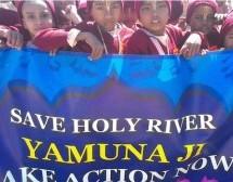 Protesta por la Contaminación del Yamuna, no Cede ni Negocia.