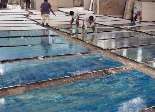 """Foto Noticias: """"Mármol azul para el Templo del Planetario Védico"""""""