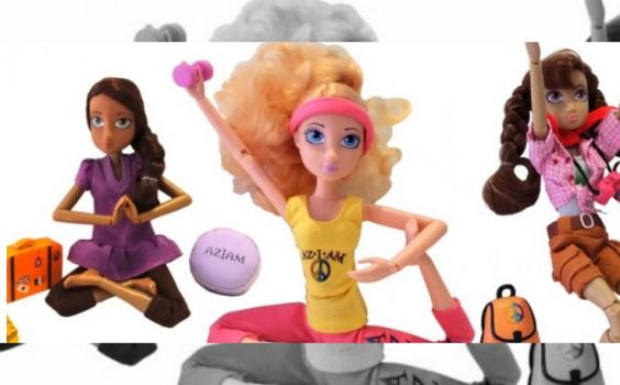 """NOTICIAS DEL MUNDO: """"Aziam Girlz, las primeras muñecas que practican yoga"""""""