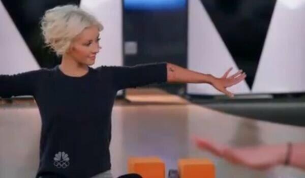 El yoga inspiró el próximo disco de Christina Aguilera.