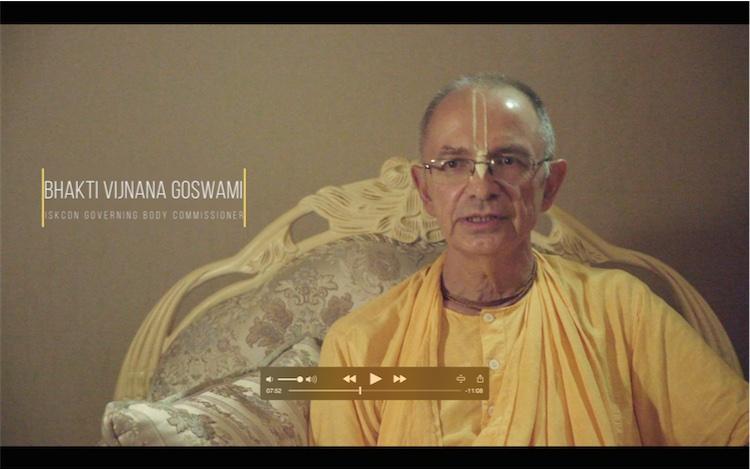 Su Santidad Bhakti Vijnana Goswami imparte información sobre ISKCON Rusia